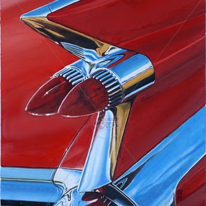 Cadillac - Oil on canvas