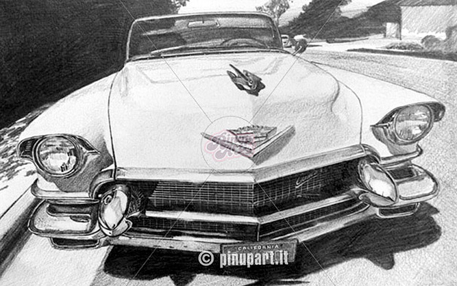My old cars illustrations