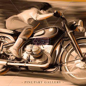 Cafè race - Painter X digital art