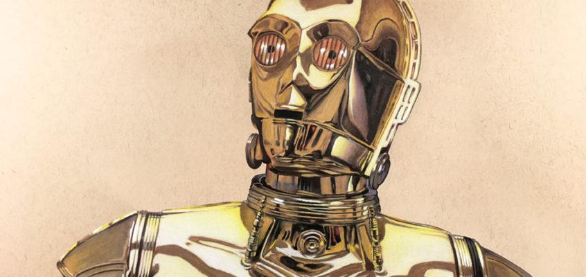 Drawing C-3PO