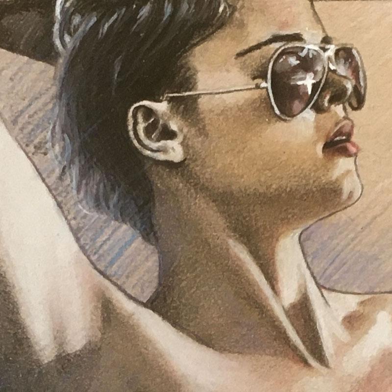 Naked Stefania Ferrario